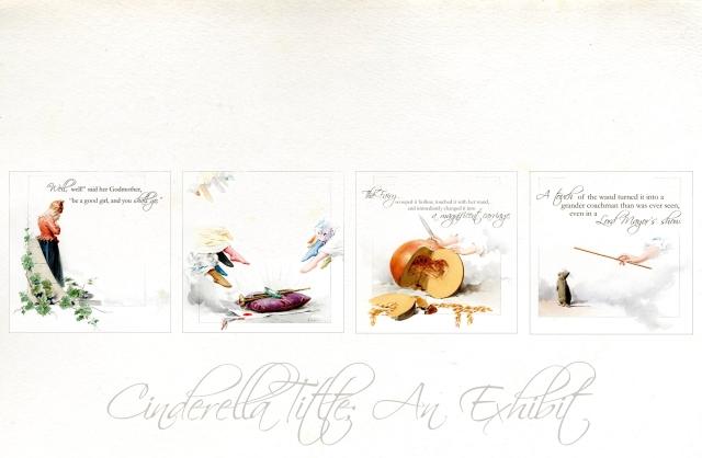Four Cinderella images
